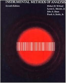 Instrumental Methods Of Chemical Analysis Book