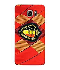 ColorKing Football Belgium 06 Red shell case cover for Samsung S6 Edge Plus