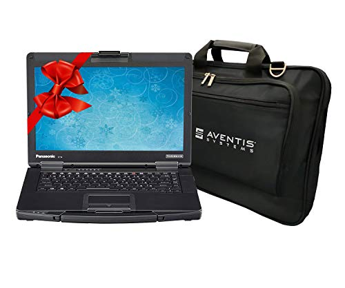 Panasonic Toughbook CF-54 Laptop PC Bundle with Laptop Bag, Intel i5-7300U 2.6GHz, 16GB RAM, 500GB SSD, Windows 10