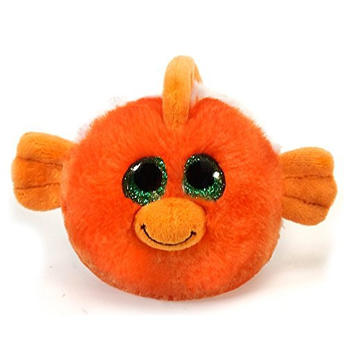 Fiesta Toys Lubby Cubbies Giggles the Clown Fish Plush Stuffed Toy - 3.5 (Clown Fish Bean Bag)