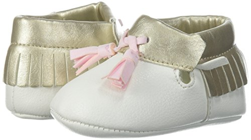 Pictures of Baby Deer Girls' 0004136 Moccasin White 1 White 1 Child US Infant 4