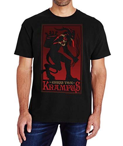 Michael Shaffer Krampus T-Shirt Large Black