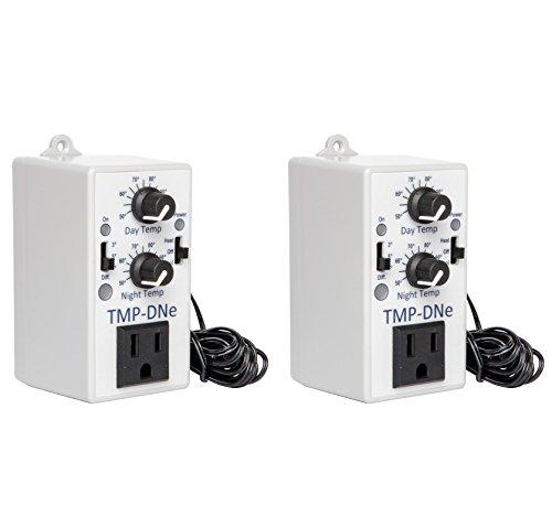 2 C.A.P TMP-DNE Day/Night Blower Air Conditioner Fan Temperature Controllers (Night Temperature Controller)