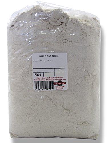 Bulk Whole Oat Flour, 4.5 Lb. Bag