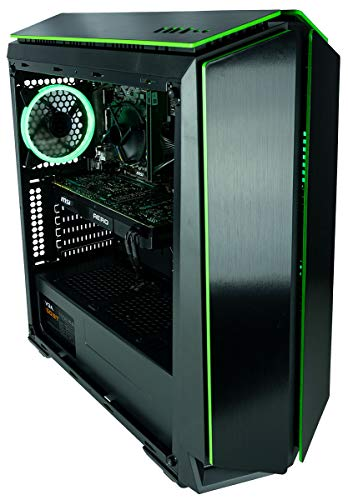 CUK Mantis Custom Gaming PC (AMD Ryzen 7 2700, 16GB RAM, 500GB SSD, NVIDIA GeForce GTX 1080 8GB, 500W Bronze PSU, Windows 10) The Best New VR Ready Tower Desktop Computer for Gamers