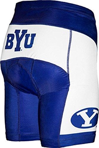 UPC 811230016965, NCAA BYU Men's Cycling Shorts, White, Medium