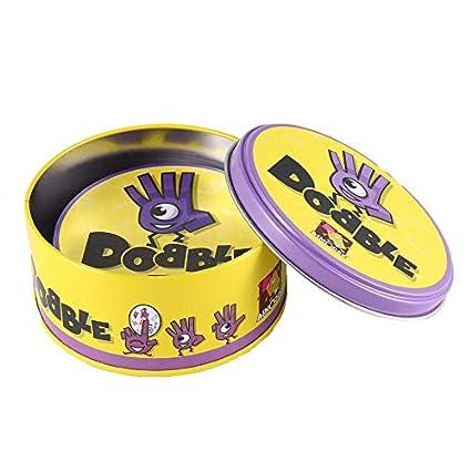 WUQIAN Dobble Juego De Mesa Spot Sport & Alphabet For Kids ...