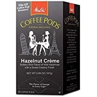 Melitta One:One Hazelnut Coffee Pods - Go Hazelnuts, 18 Pods/Box(sold in packs of 3)