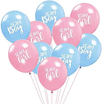 """30/"""" Baby Shower Balloons Boy or Girl 5pcs Foil Pink Blue Decorations Party UK"""