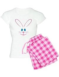 4f062a11e3d9 Pink Bunny Face - Womens Novelty Cotton Pajama Set