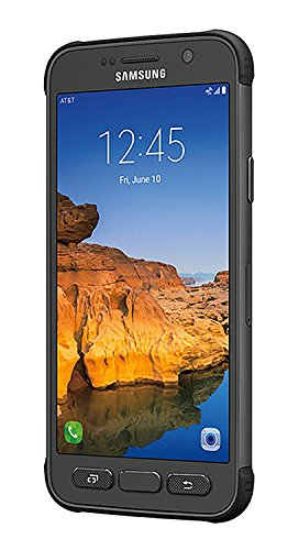 Samsung Galaxy S7 Active G891A 32GB Unlocked GSM Shatter,Dust and Water Resistant Smartphone w/ 12MP Camera - Titanium Gray