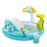Whryspa Inflatable Swim Center Fun Baby Swimming Pool Toddler Water Spouts Slide Garden Leisure Pool 20317389Cm