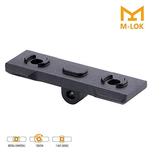 Sawke M-Lok Bipod Mount - Harris Style Bipod Adapter Low-Profile Aluminum (Harris Bipod Mounts)