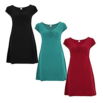 Organic Essentials Cap Sleeve Dress