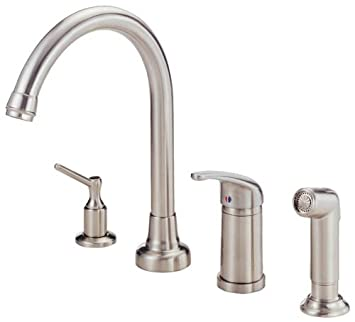 Danze D409012ss Melrose Single Handle Kitchen Faucet With Matching