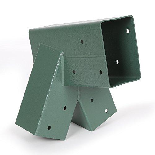 Ecotric Easy 1 2 3 Heavy Duty Steel A Frame Swing Set Bracket Green