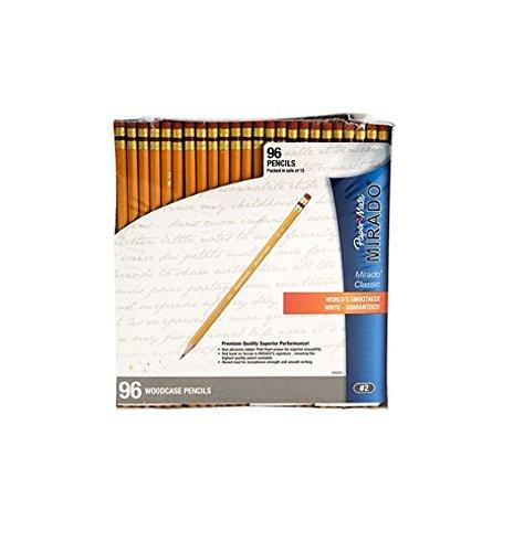 Paper Mate Mirado Woodcase Pencils, HB #2, Yellow Barrel, 96ct.