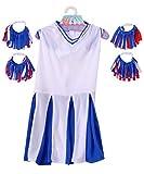 Rubies Deluxe Cheerleader Pet Costume, X-Large