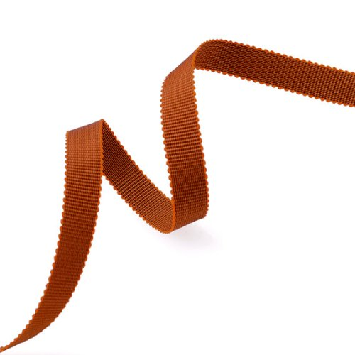 - Grosgrain Ribbon 3/8-Inch Burnt Orange by 50 Yards
