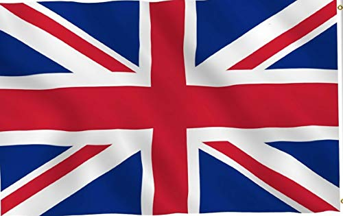Kaputar 3x5 British Union Jack United Kingdom UK Flag Premium Banner Fast USA Shipper | Model FLG - 6482