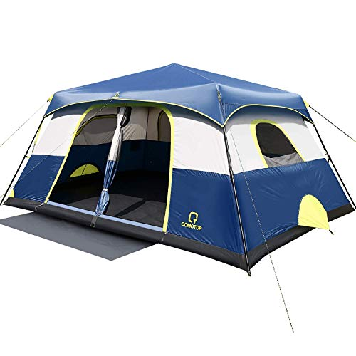 QOMOTOP Camping Tent for 10 People