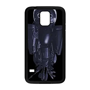 Samsung Galaxy S5 Cell Phone Case Black MIDNIGHT DESKTOP ROBOT OWL 1.0 OJ465751
