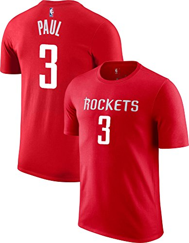 Outerstuff NBA Youth Performance Game Time Team Color Player Name Number Jersey T-Shirt (Small 8, Chris Paul) (Printed Paul)