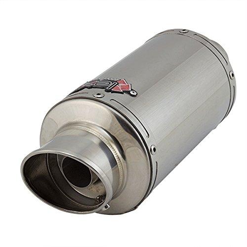 Lextek YP4 - Silenciador de tubo de escape de acero ...
