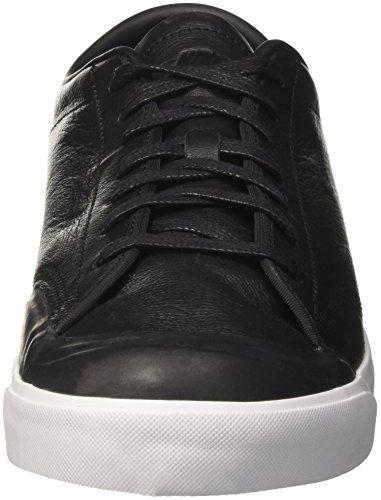 Nike Herren All Court 2 Low Leather Sneaker Schwarz (Black/black White)