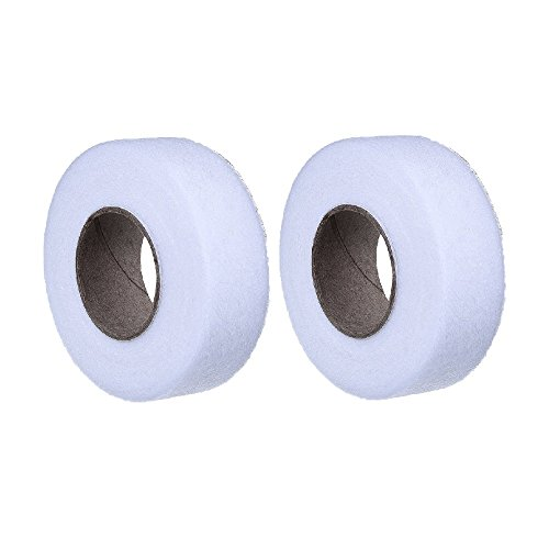 SelfTek Each 70 Yards Fabric Fusing Tape Adhesive Hem Tape Roll for Jeans,Trousers,Garment and Clothes (Pack of 2)
