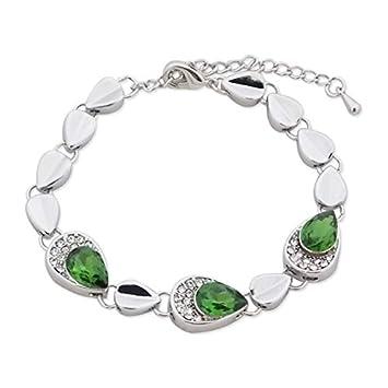 Silber Und Und FälltStrass Armband Silber Armband FälltStrass FalschesElektronik jzGLMVpqSU