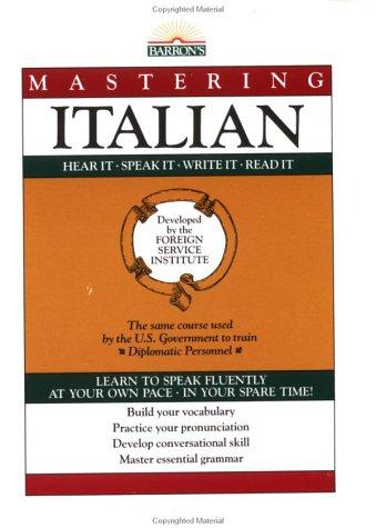 Mastering Italian (Mastering Italian: Book Only (Mastering Series: Level 1))