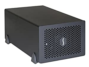 Sonnet Technology Echo Express SE2 - Caja de expansión (2 x PCIe 2.0 x8, 2 x Thunderbolt 2), plateado