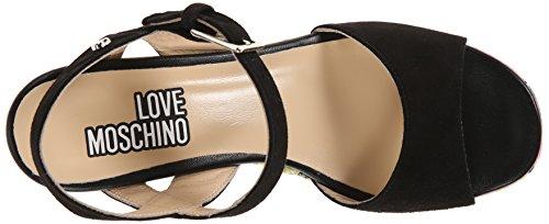Love Moschino Women's Printed Platform Sandal Green aBYtOH