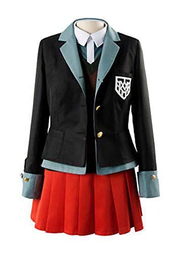 Yi Fang Yumeno Himiko Anime Danganronpa Cosplay Halloween Party Woman Japanese Uniform Cosplay Costumes (M, A) -