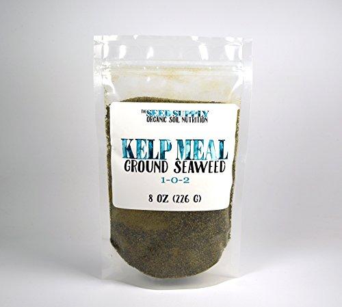 8 Ounces Maxicrop Organic Kelp Meal 1-0-2 Natural Norwegian Kelp Seaweed Fertilizer