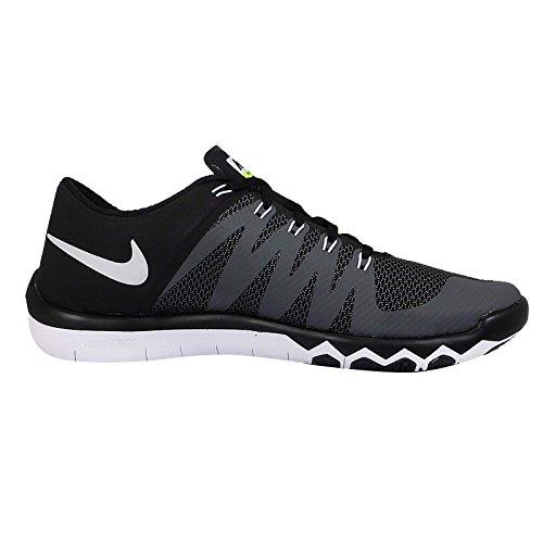 Nike Mænds Fri Træner 5,0 V6 Træning Sko Sort / Mørkegrå / Volt / Hvid Størrelse 15 M Os