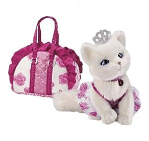 Russ Berrie Barbie Pets Blissa - Gato de peluche con bolso de transporte