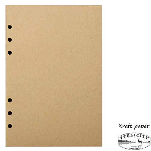 (7Felicity Classic Writing Business Notebook,Leather Cover,9