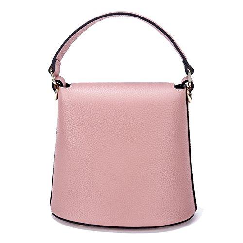 Top Messenger Totes Main Cuir à Les Sacs Pink Filles à Véritable Main Fourre Femmes tout Sac Embrayages à Bandoulière Sac Mini Pour Lady Handbags MERRYHE à Main Sac En Sac qFPZ0Sxw
