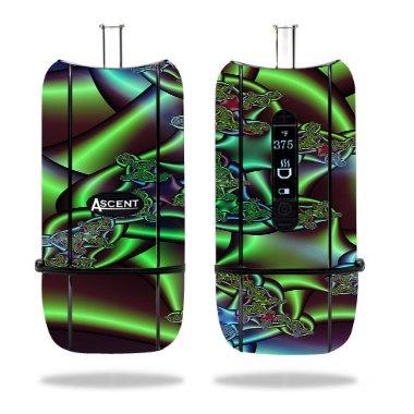 Decal Sticker Skin WRAP - Davinci Ascent Vaporizer - Sticker Skin Colored Pipes Printed Design