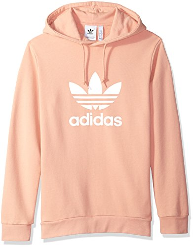 Adidas Men's Originals Trefoil Warm-up Hoodie, Dust Pink, (Adidas Heavyweight Sweatshirt)