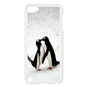 FLYBAI Penguin Parents Love Phone Case For Ipod Touch 5 [Pattern-4]