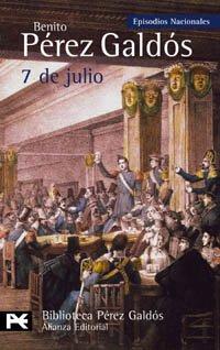 7 de julio par Pérez Galdós