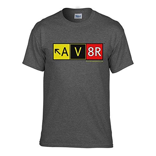Pilot Expressions Men's AV8R Taxiway Sign T-Shirt ()