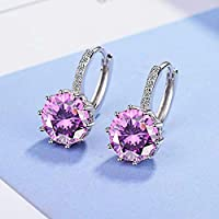 Beitsy Lily Jewelry 925 Sterling Silver Swarovski Crystal Elements Drop Earings