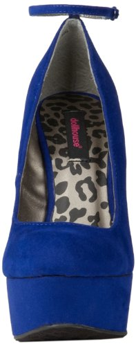 Leopardo Delle Blue Doll Womens Confession Wedge