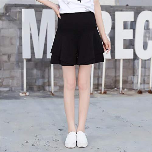 XXIAZHI, Color Liso Pantalon Grossesse Commuter Faldas Embarazadas ...