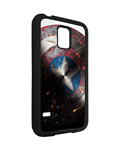 Marvel Samsung Galaxy S5 Mini Case Spiderman SuperHero, Galaxy S5 Mini Case Marvel Comic Logo TPU Silicone Protective Case Cover for Girls