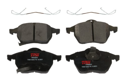 - TRW TPM0800 Premium Front Disc Brake Pad Set